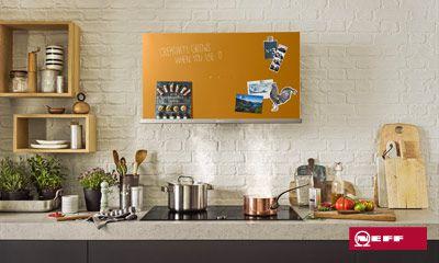Kreative dunstabzugshauben von neff für kreative küchen ihr